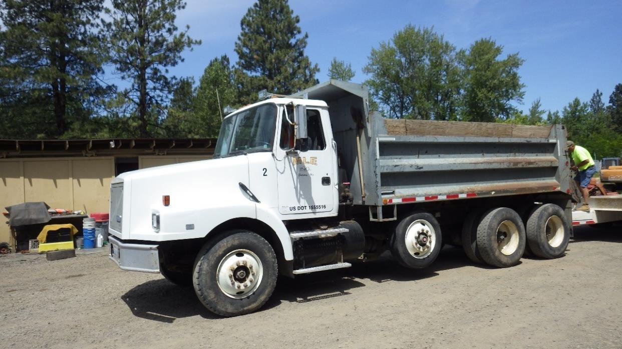 1994 White Gmc Wg  Dump Truck