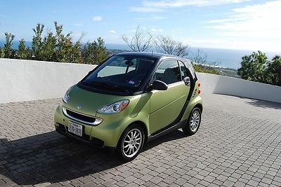 2012 Other Makes Fortwo Passion Coupe 2-Door 2012 Smart Fortwo Passion Coupe 2-Door 1.0L full glass roof Nice