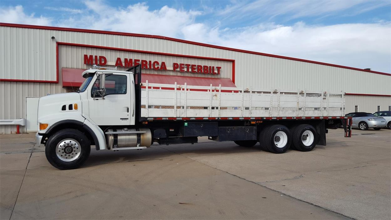 2005 Sterling Lt8500 Flatbed Truck