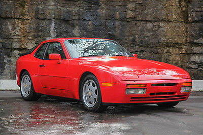 1989 Porsche 944 S2 3.0L 16v 1989 Porsche 944 S2 90k 5-Speed COLD AC Guards Red/Black CLEAN 3.0L 16v WOW!!