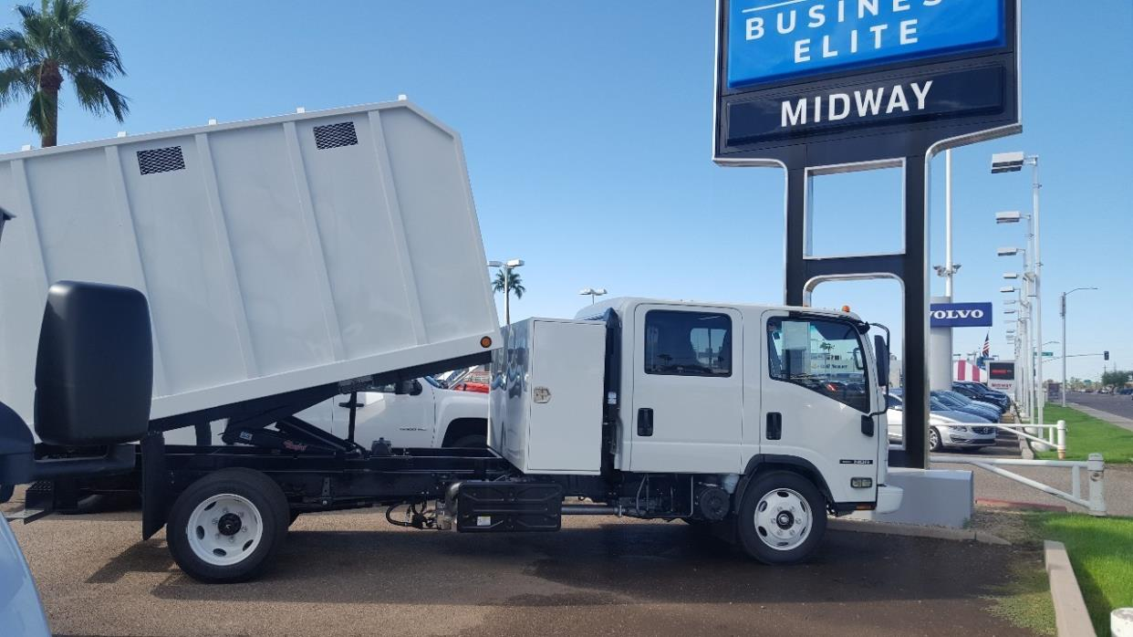 2017 Isuzu Nqr  Chipper Truck
