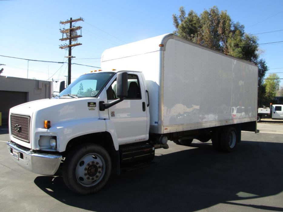 2008 Chevrolet C6500  Box Truck - Straight Truck