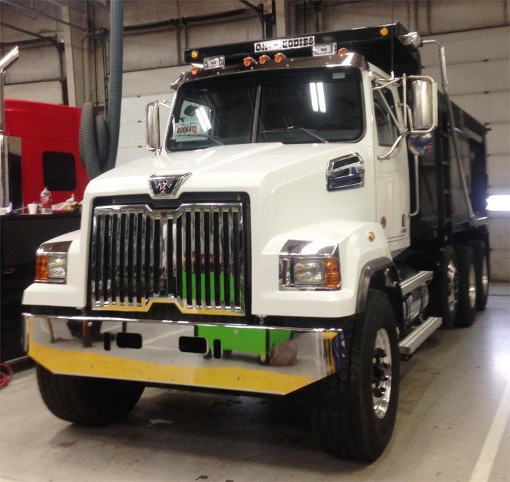 2018 Western Star 4700sf Dump Truck