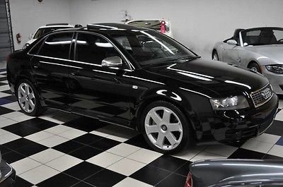 2004 Audi S4 QUATTRO - NAVIGATION - 6SP MANUAL - CLEAN CARFAX 2004 Audi