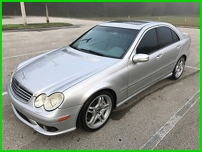2005 Mercedes-Benz C-Class C55 AMG 2005 C55 AMG Used 5.4L V8 24V Automatic RWD Sedan Premium