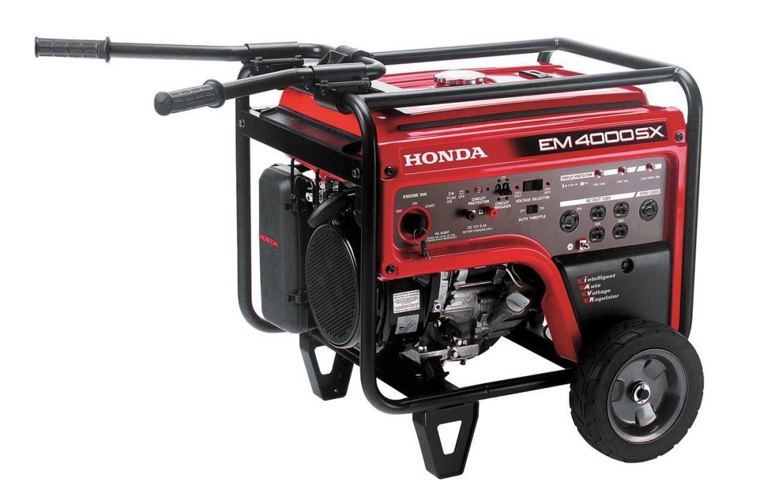 2015 Honda Power Equipment EM4000S