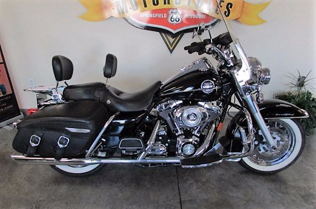 Harley Davidson Springfield Mo >> Harley Davidson Road King Custom Motorcycles For Sale In