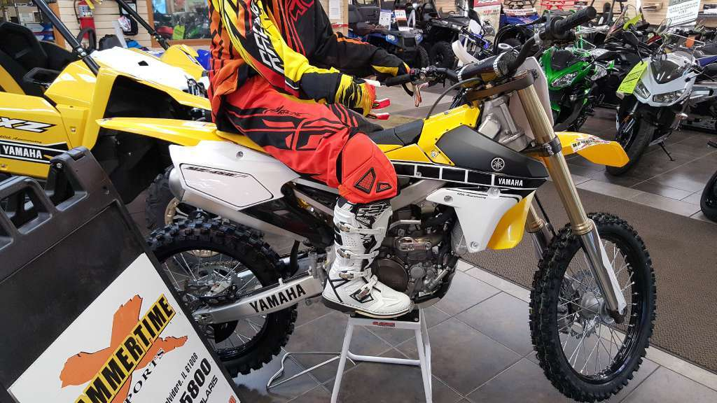 2016 Yamaha YZ450F 60th Anniversary Yellow / Black