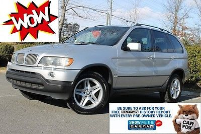 2003 BMW X5 Why wait? Put it on your WATCH LIST! **Bid NOW!** BMW X5 AWD 4x4 4.4i Sport* LOADED-LOW MILES!!! **Fresh Oil NEW Alternator/Tires