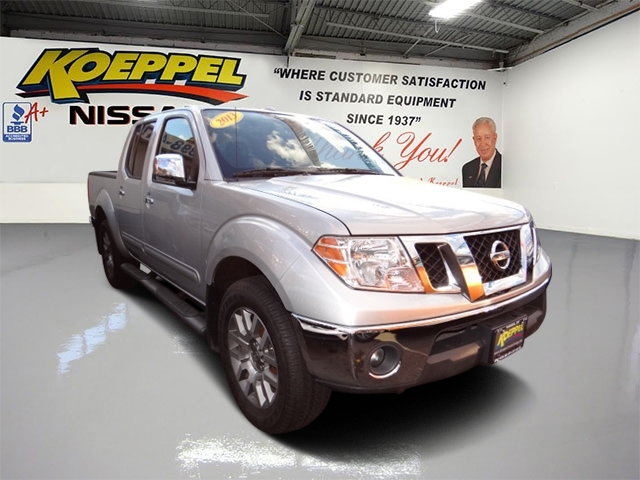 2013 Nissan Frontier Sl Pickup Truck