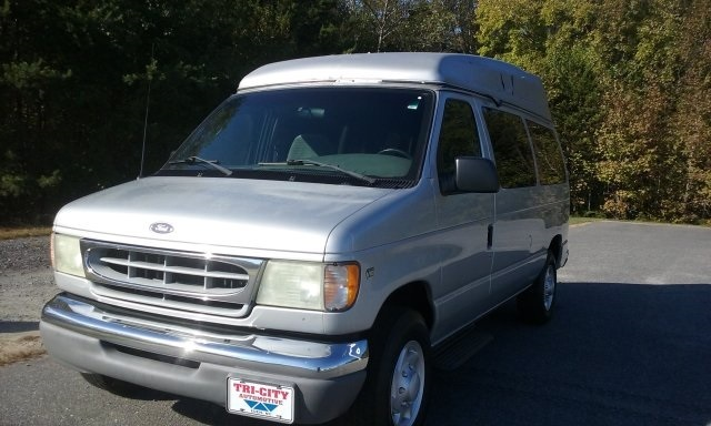 2002 Ford E-350sd  Cargo Van