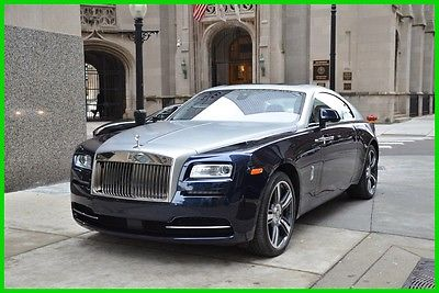 2015 Rolls-Royce Other Rolls-Royce Wraith 2015 Used Turbo 6.6L V12 48V Automatic RWD Premium