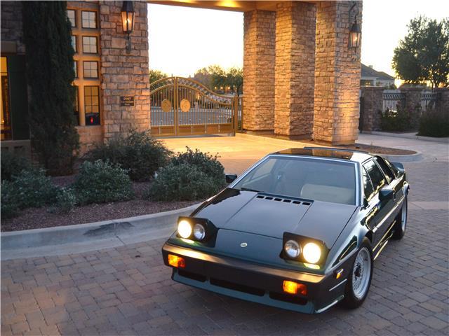 1985 Lotus Esprit Turbo 2-Door Coupe 1985 Lotus Esprit Turbo 2-Door Coupe 43,300 Miles British Racing Green 2-Door Co