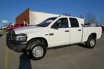 2008 Dodge Ram 2500 4X4 CREW CAB 6 3/4 BED 5.7 HEMI ENGINE AUTO NEW MABCO HEMI ENGINE!RUST FREE!!WORK READY TRUCK!$SAVE THOUSAND$$!RUNS GREAT!!!