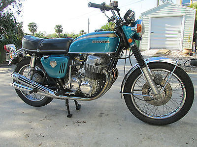 1970 Honda CB  1970 HONDA CB750 nice original condition 750/4 runs/shifts needs tlc 12/69