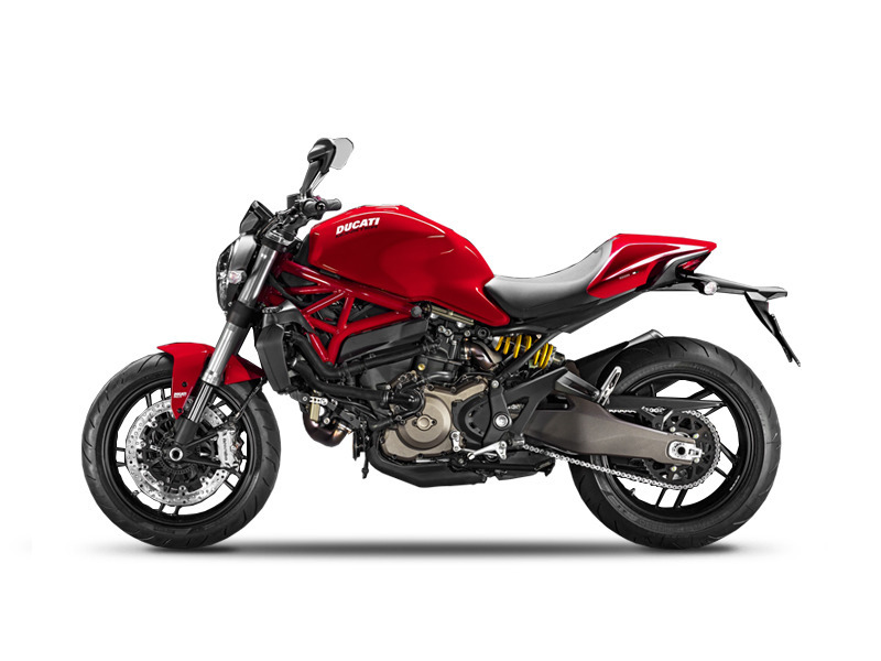ducati monster 821 red motorcycles for sale in virginia. Black Bedroom Furniture Sets. Home Design Ideas