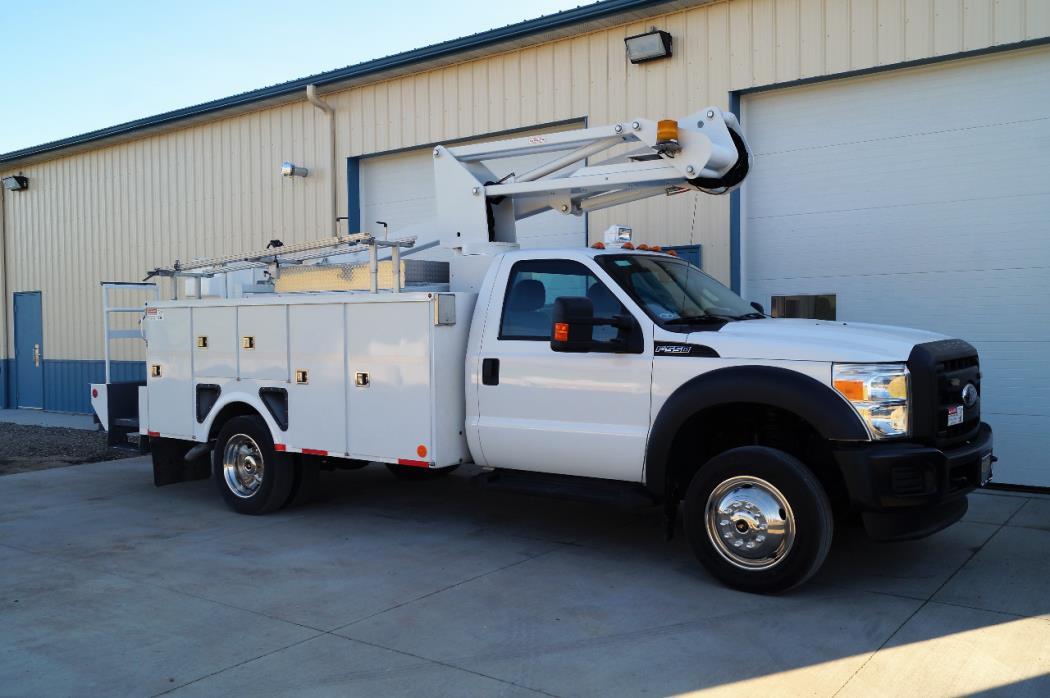 2012 Ford F550 Bucket Truck - Boom Truck