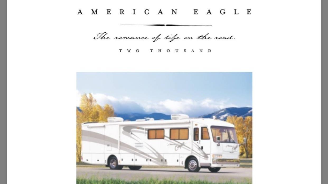 2000 Fleetwood AMERICAN EAGLE 40EDS