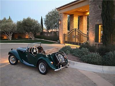 1954 MG TF Roadster -- 1954 MG TF Roadster  81,380 Miles British Racing Green 2-Door Roadster 1.2 Manua