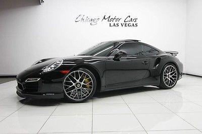 2014 Porsche 911 2014 Porsche 911 Turbo S Coupe $190k+MSRP BURMESTER Sound Entry & Drive! LOADED!