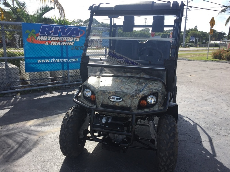 2016 Bad Boy Off Road Recoil iS 4-Passenger Realtree Xtra