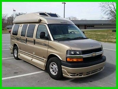 2013 Roadtrek Versatile 170 19' Class B RV Chevy V8 Gasoline Engine Awning A/C