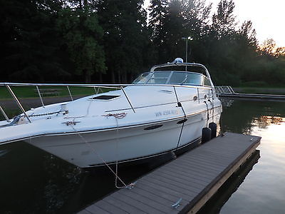 1995 Sea Ray Sundancer 330 Twin V8  600 hrs, 84 Hours on Genset ,CLEAN INTERIOR