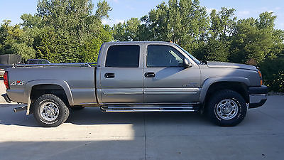 2006 Chevrolet Silverado 2500 LT GRAY, CREW CAB, MEDIUM GRAY, 4X4