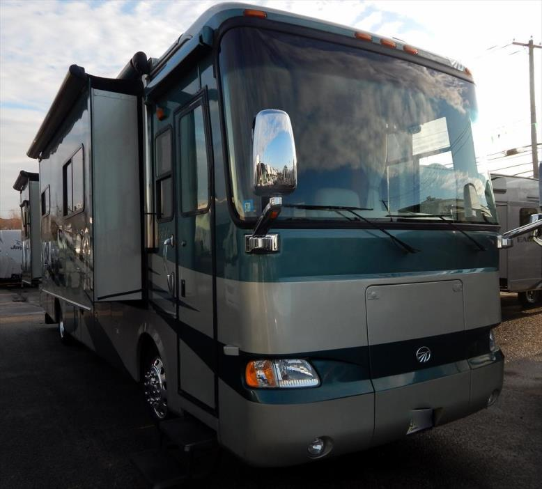 2006 Monaco Rv Knight 38PDQ Queen Bed Quad Slide-out