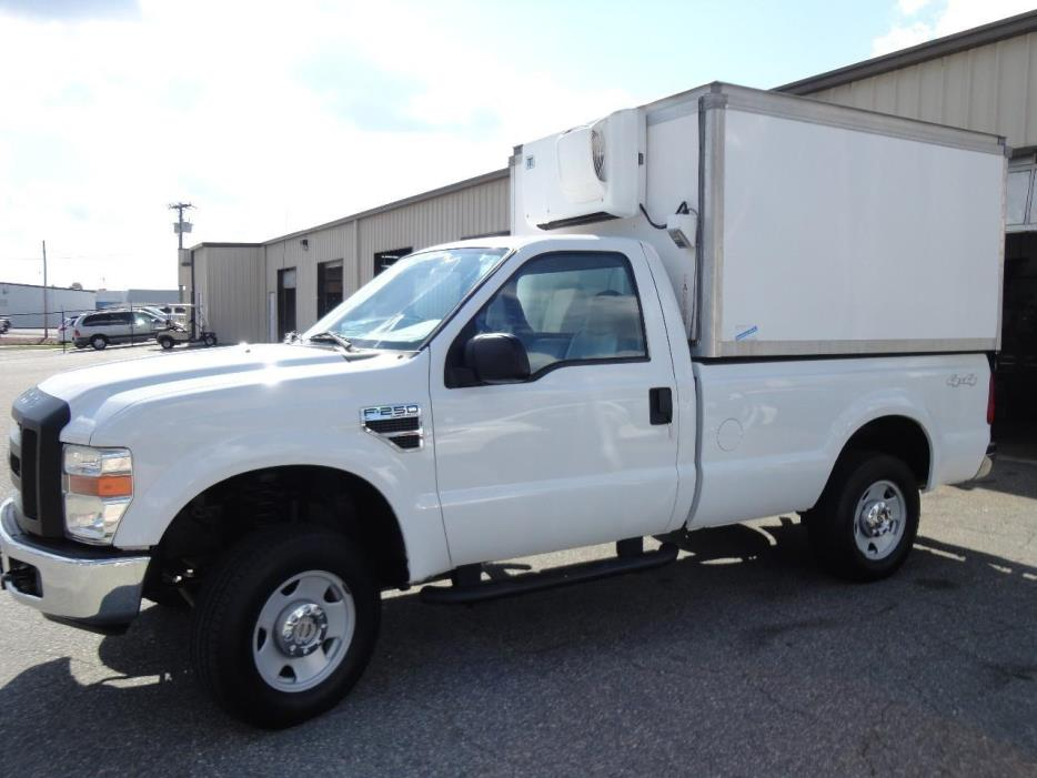 2008 Ford F250 Refrigerated Truck