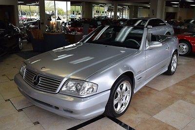 2002 Mercedes-Benz SL-Class  2002 Mercedes-Benz SL500 Silver Arrow Roadster