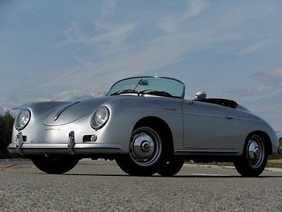 1957 Porsche 356 SPEEDSTER 1957 PORSCHE SPEEDSTER REPLICA CALIFORNIA TITLED STUNNING PROFESSIONAL BUILD