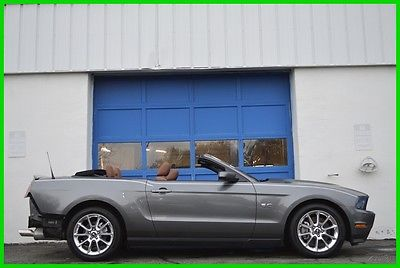 2011 Ford Mustang GT Premium 5.0L 6 Spd GT Leather Shaker 13000 Mls! Repairable Rebuildable Salvage Runs Great Project Builder Fixer Easy Fix Save