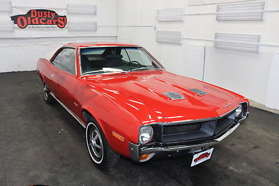 1970 AMC Javelin Runs Drives Body Int 304V8 3spd auto 1970 Red Runs Drives Body Int 304V8 3spd auto!