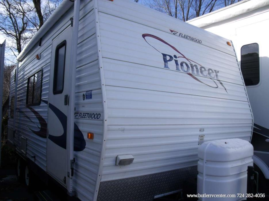 Fleetwood Pioneer 180ck Rvs For Sale