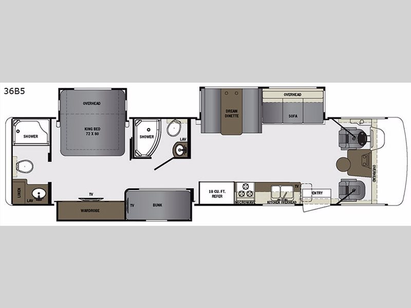 2017 Forest River Rv Georgetown 5 Series 36B5