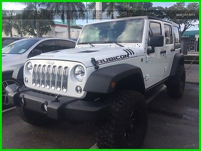 2014 Jeep Wrangler Unlimited Rubicon 2014 Unlimited Rubicon Used 3.6L V6 24V Automatic 4WD SUV