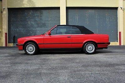 1993 BMW 3-Series Base Convertible 2-Door 1993 BMW E30 325i Base Convertible 5 Speed New Top