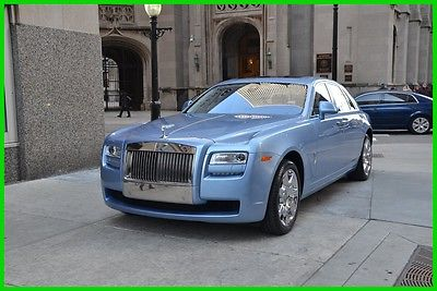 2013 Rolls-Royce Ghost Rolls-Royce Ghost 2013 Used Turbo 6.6L V12 48V Automatic RWD Sedan Premium Moonroof