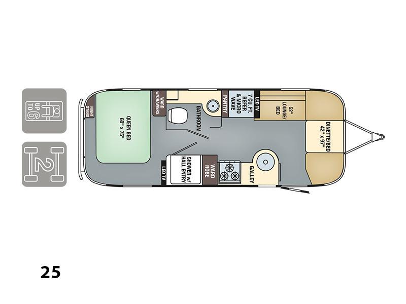 2017 Airstream International Signature 25