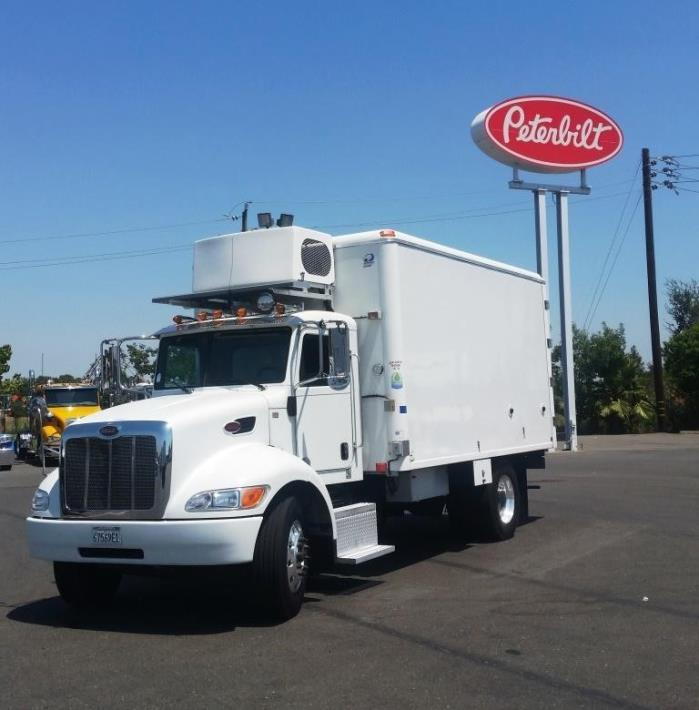 2012 Peterbilt 337 Refrigerated Truck