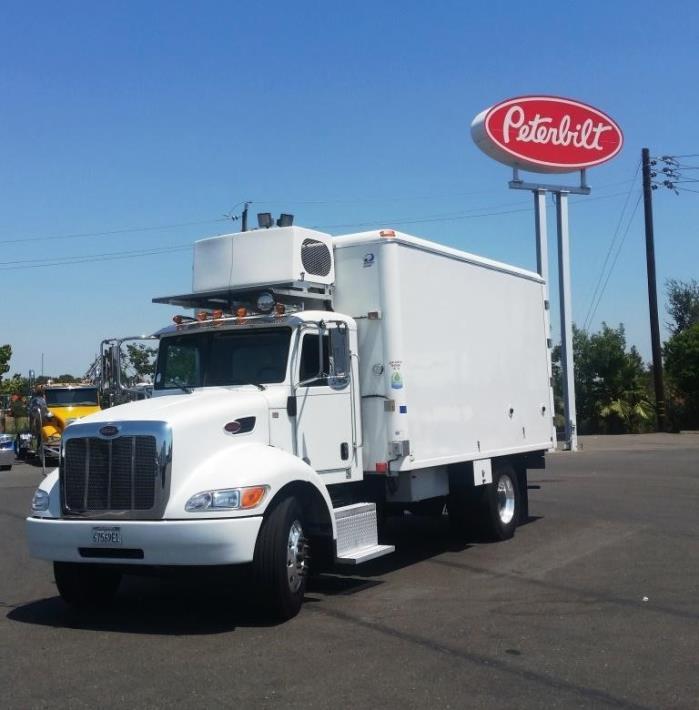 2012 Peterbilt 337 Refrigerated Truck