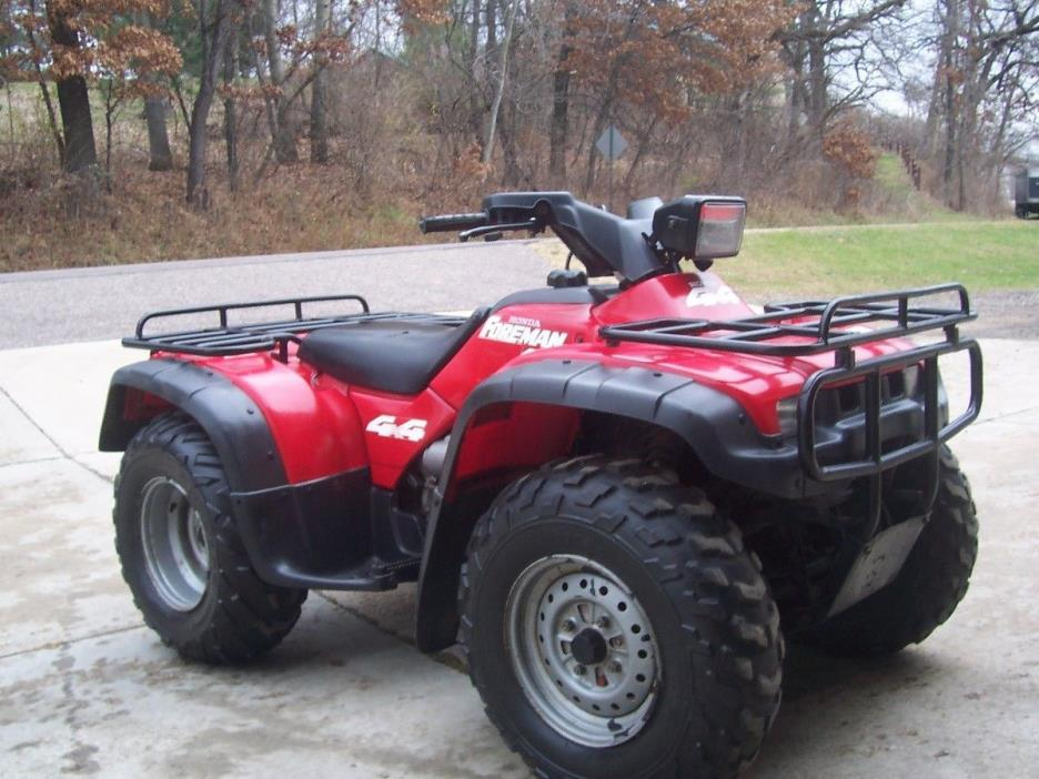 Honda Foreman 400 Motorcycles for sale