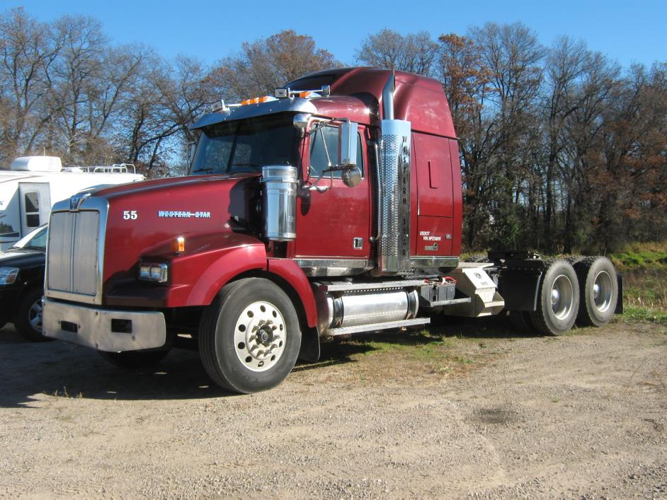 2008 Western Star 4900sa Tractor