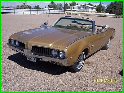 1969 Oldsmobile Cutlass 1969 Oldsmobile Cutlass S Convertible Used Automatic