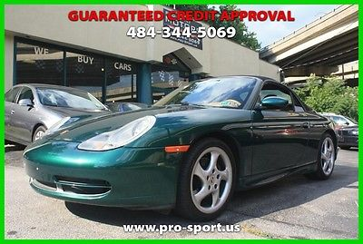 2001 Porsche 911 Carrera 2001 Carrera Used 3.4L H6 24V Manual RWD Convertible Premium