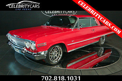 1963 Chevrolet Impala Restomod 327 V8 1963 Chevrolet Impala SS Resto Mod V8 327 4 speed manual Fully Restored