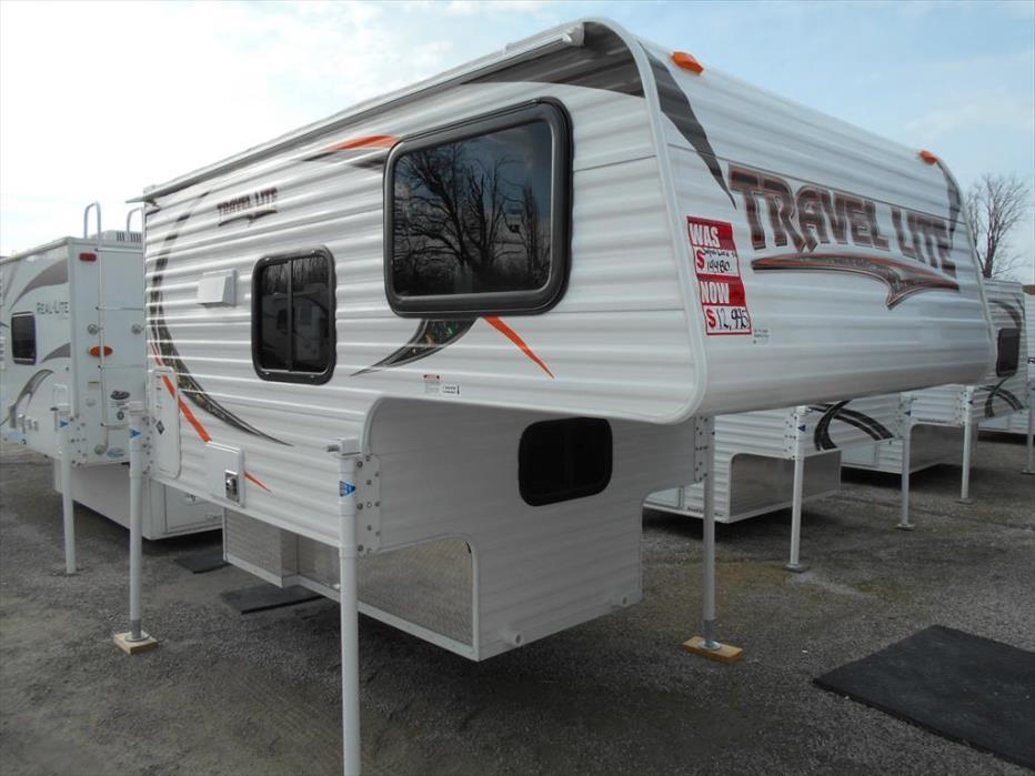 2017 Travel Lite Truck Campers 610 RSL - Fits Mini Truck