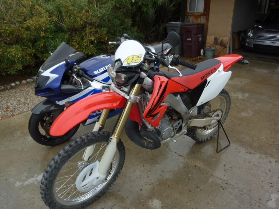 2007 Honda CR SERIES 250R