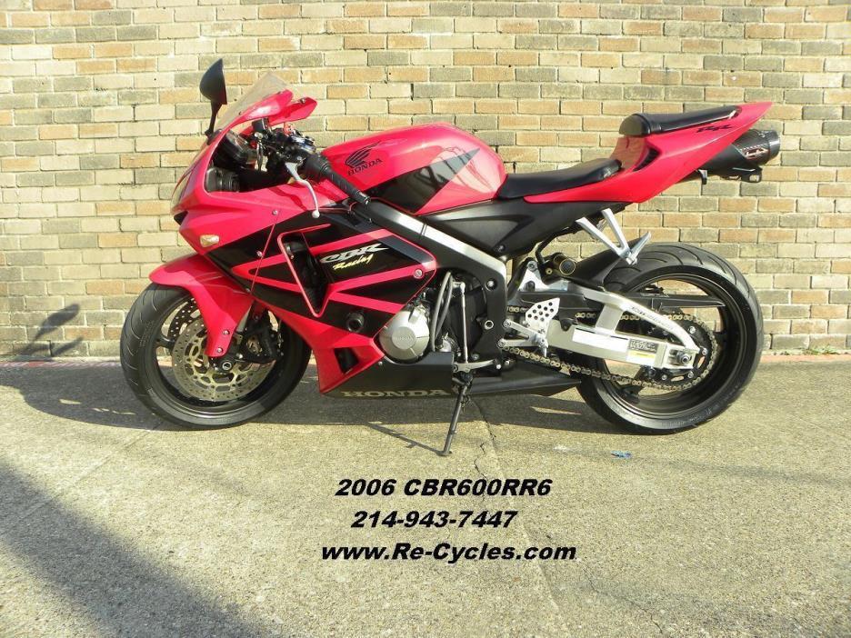 Honda cbr600rr6 motorcycles for sale in dallas texas for Honda dallas tx